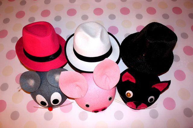 fotobudka gadżety kapeluszee