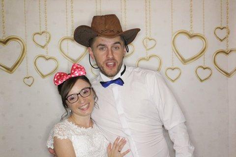 budka fotograficzna na weselu