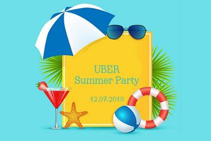 uber summer party - fotobudka na imprezie