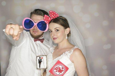 fotobudka na wesele, ola i adrian