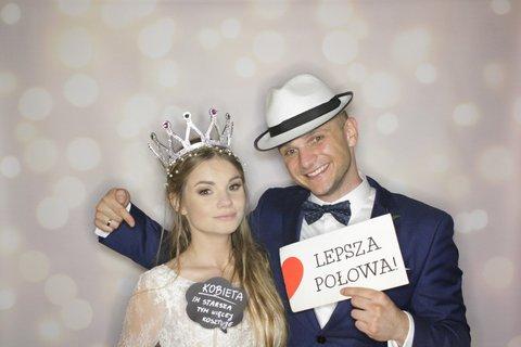 fotobudka na weselu pauliny i bartosza