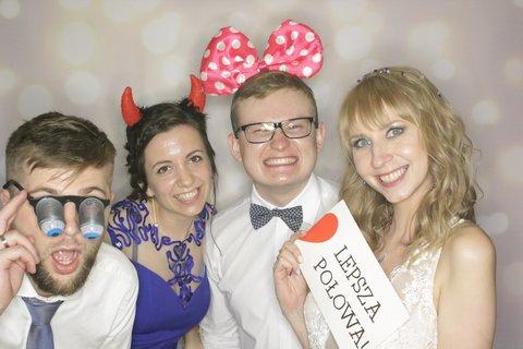 fotobudka w krakowie, wesele z budką, lepsza połowa