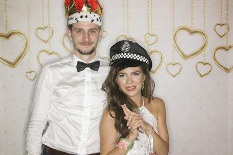 fotobudka wesele para młoda