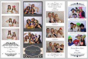 fotobudka komunia szablony wydruków