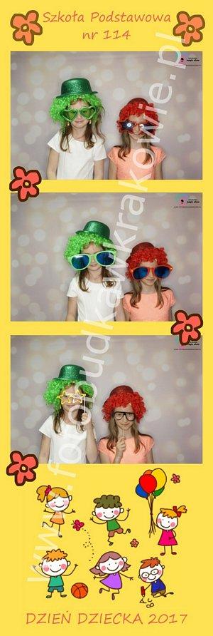 fotobudka dzień dziecka, dziewczynki w kapeluszach
