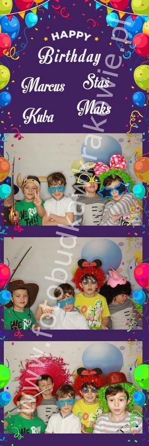 fotobudka kraków, urodziny dzieci, balony
