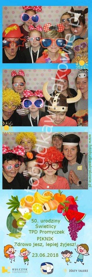 fotobudka piknik rodzinny, kolorowe zdjęcia z imprezy