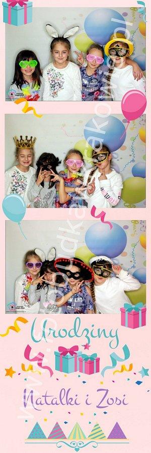 fotobudka na urodziny dziewczynek