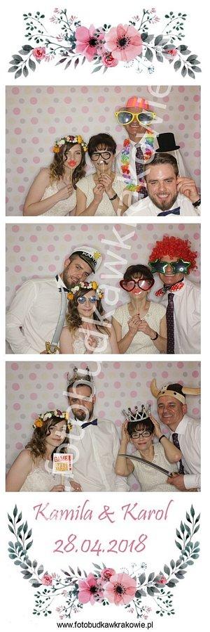 fotobudka wydruk, wesele kwiaty