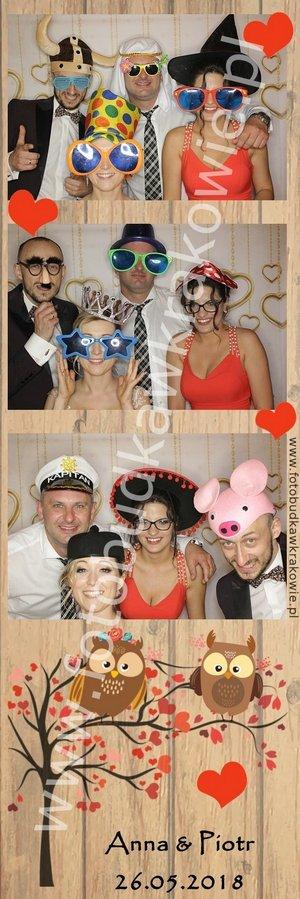 kraków, fotobudka na wesele, piękny wydruk w serca